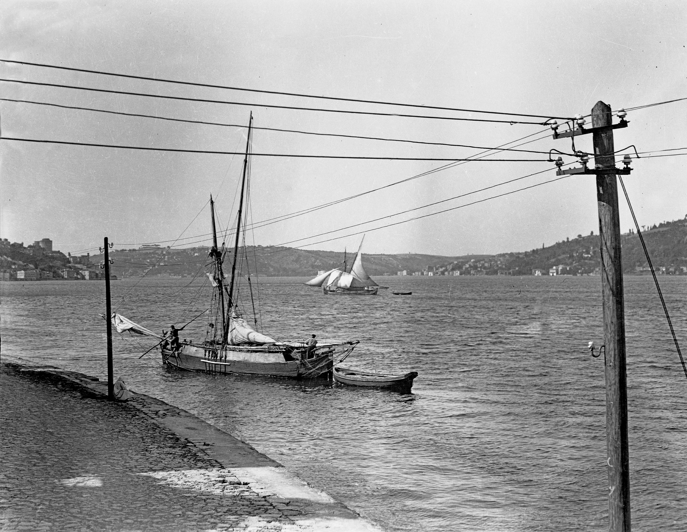 Sailing boats on the Bosphorus near Akıntıburnu, © Cengiz Kahraman