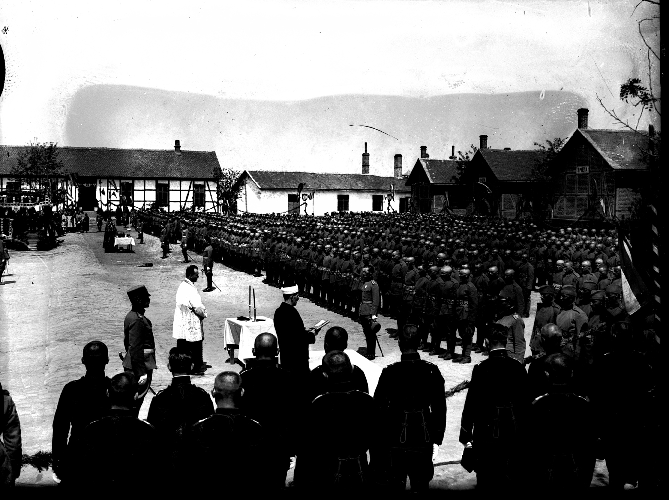 'Slava' ceremony for the 'Gvozdeni Puk' Second Infantry Division, 1930, © Photoarchive Borba