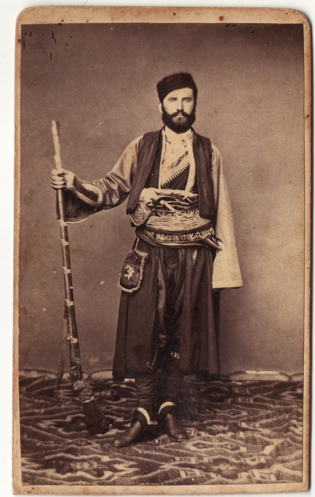 Portrait of a man dressed in folk attire, © Museum of Applied Art