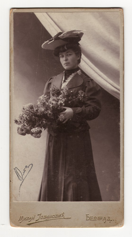 Studio portrait of Olga, © Museum of Applied Art