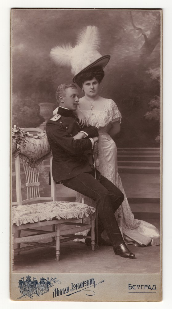 Engagement portrait of Zora Pavlović and Kosta Horstig, © Museum of Applied Art