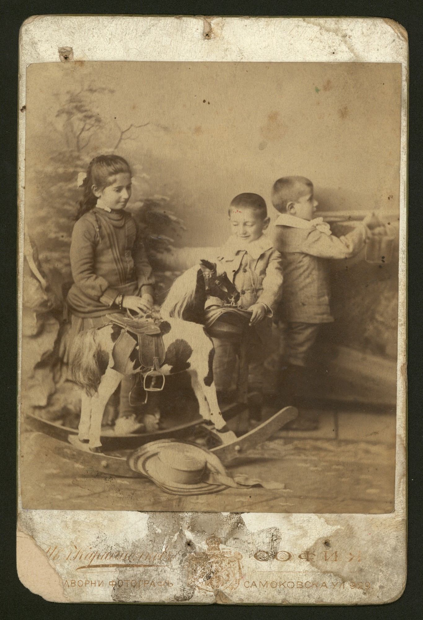 The children of Dimitar Mishev, © Central State Archives