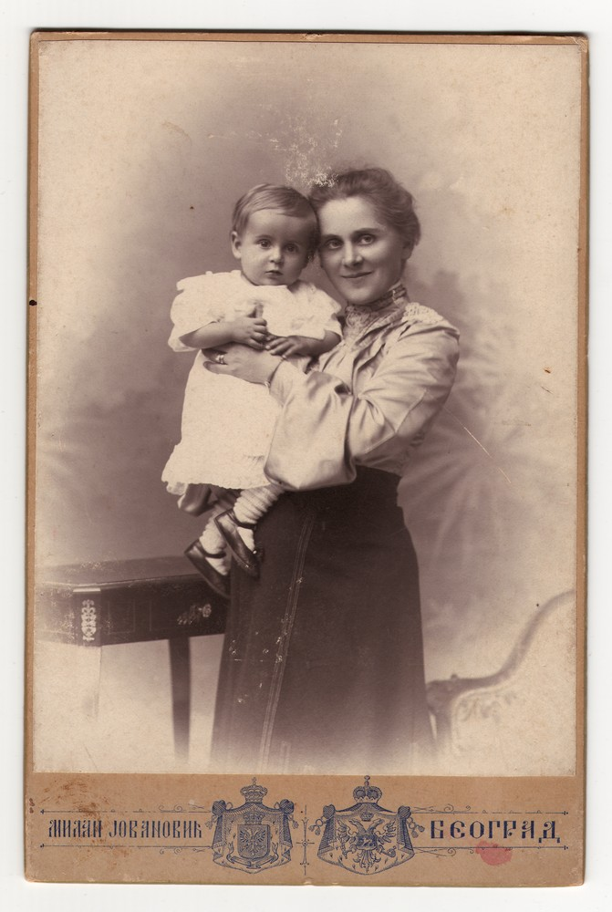 Studio portrait of Sofija and Olga Lončarević, © Museum of Applied Art