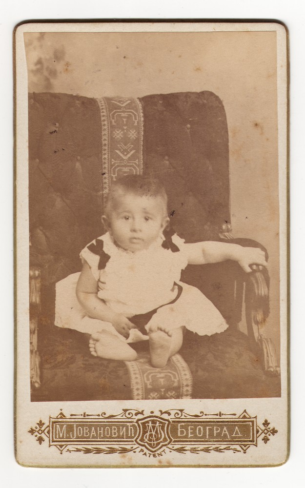 Studio portrait of a child, © Museum of Applied Art
