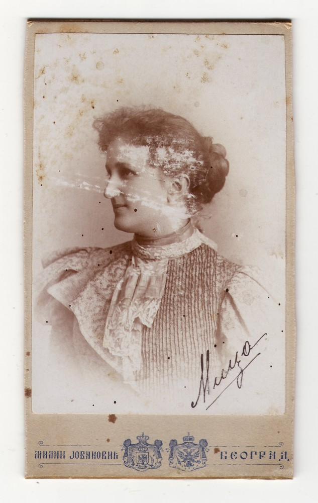 Studio portrait of Mica, © Museum of Applied Art