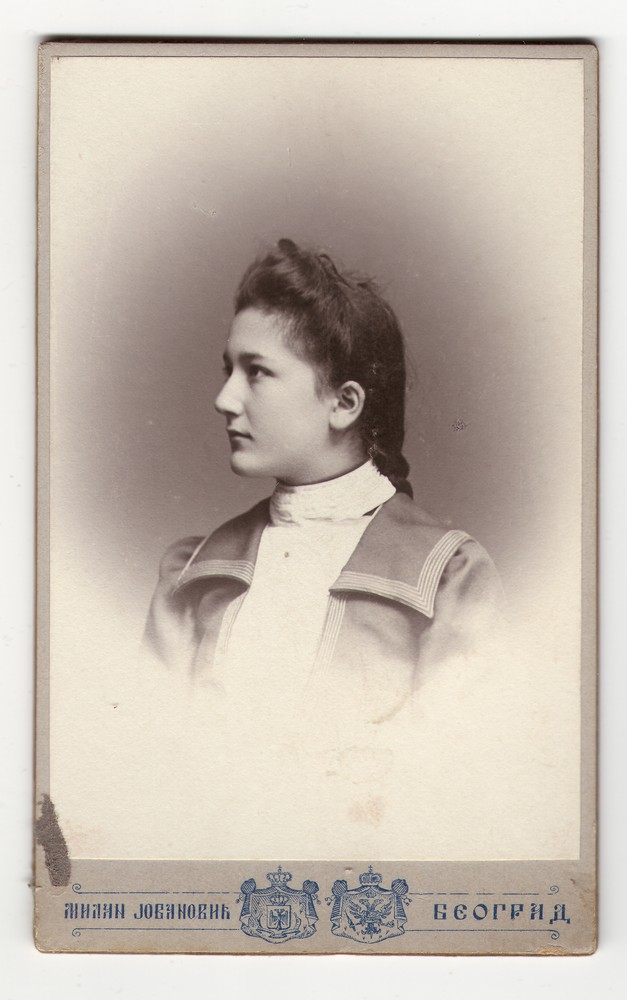 Studio portrait of Ana M. Jovanović, © Museum of Applied Art
