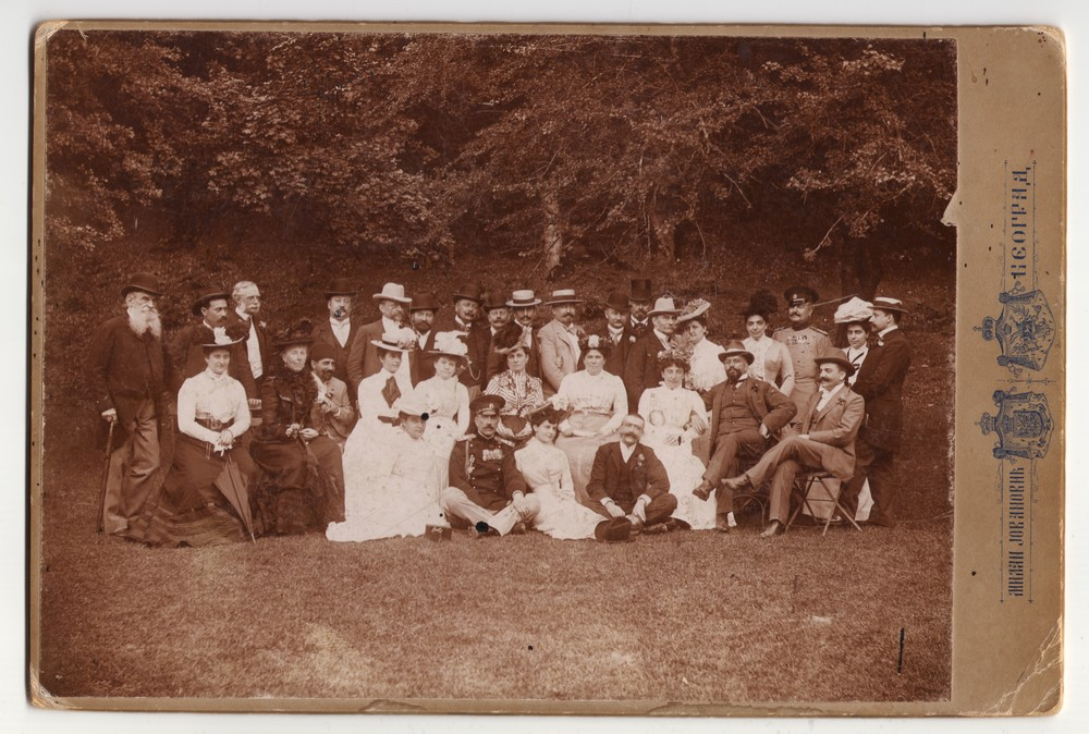 Outdoor group photograph, © Museum of Applied Art