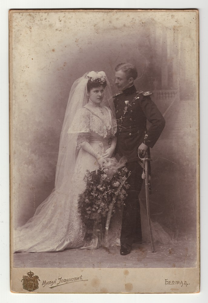 Wedding portrait of Kosta and Zora Horstig, © Museum of Applied Art