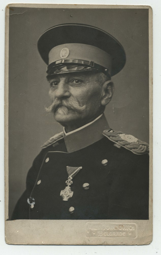 Studio portrait of King Petar I of Serbia, © Miloš Jurišić