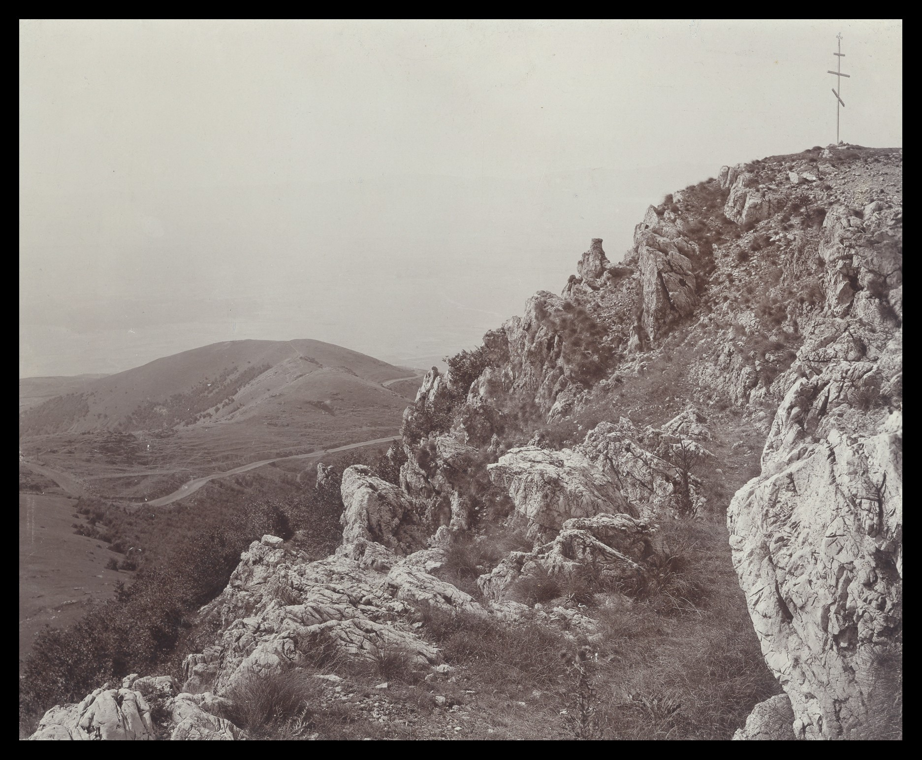 Orlovo gnezdo mountain peak, © National Museum of Military History Sofia