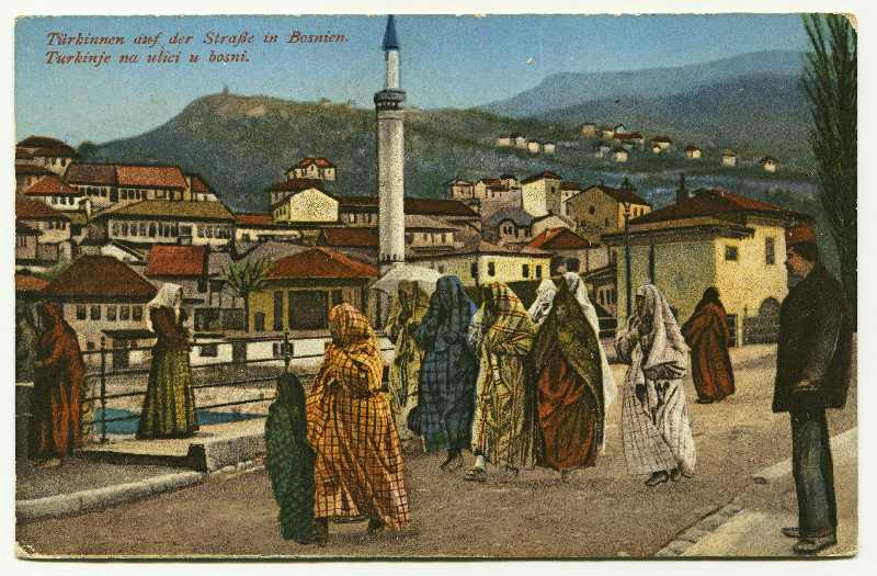 """Turkish Women On The Street In Bosnia"", © Bosniac Institute - Adil Zulfikarpašić Foundation"