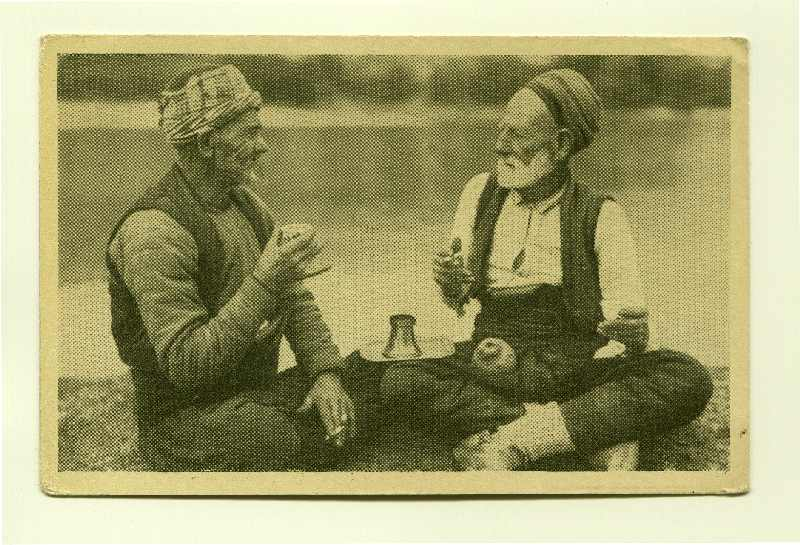 """Sarajevo / Two Old Muslims At Coffee"", © Museum of City of Sarajevo"