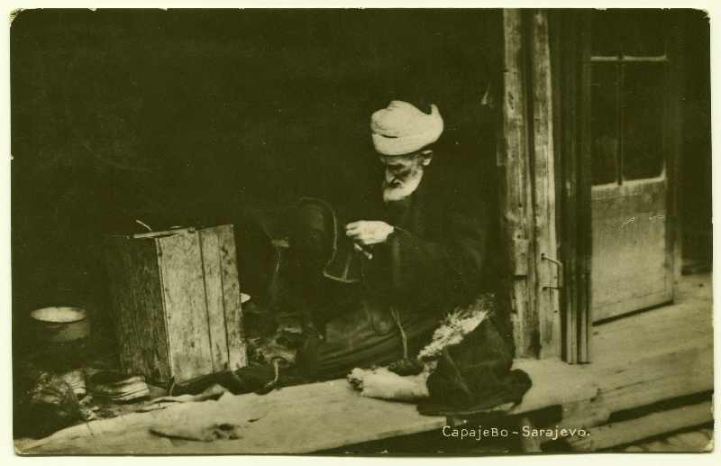 Craftsman at work, © Bosniac Institute - Adil Zulfikarpašić Foundation