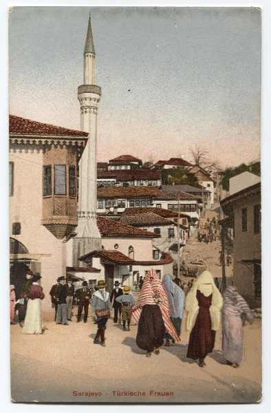 """Sarajevo - Turkish Women"", © Bosniac Institute - Adil Zulfikarpašić Foundation"