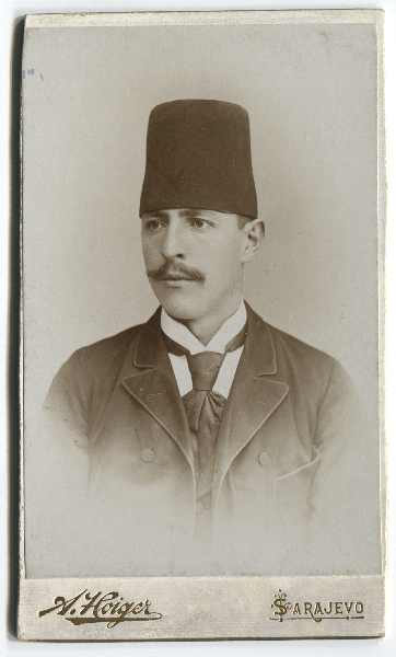 Portrait of Hasan-beg Čengić, © The Historical Archive of Sarajevo