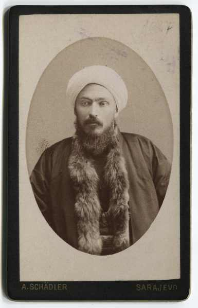 Portrait of a muslim representative, © The Historical Archive of Sarajevo