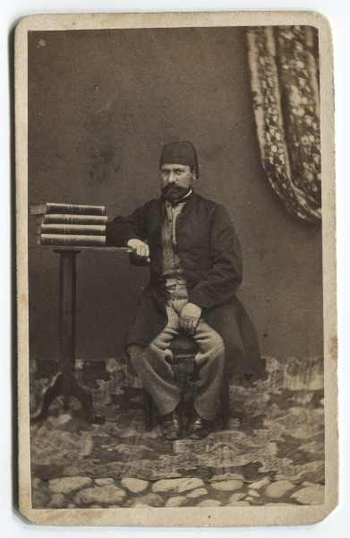 Studio portrait of a man, © The Historical Archive of Sarajevo