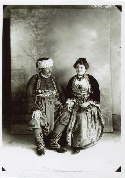 Urban Muslim clothes from Sarajevo, © The National Museum of Bosnia and Herzegovina