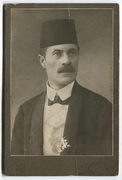 Studio portrait of Fehim ef. Čurčić, © The Historical Archive of Sarajevo