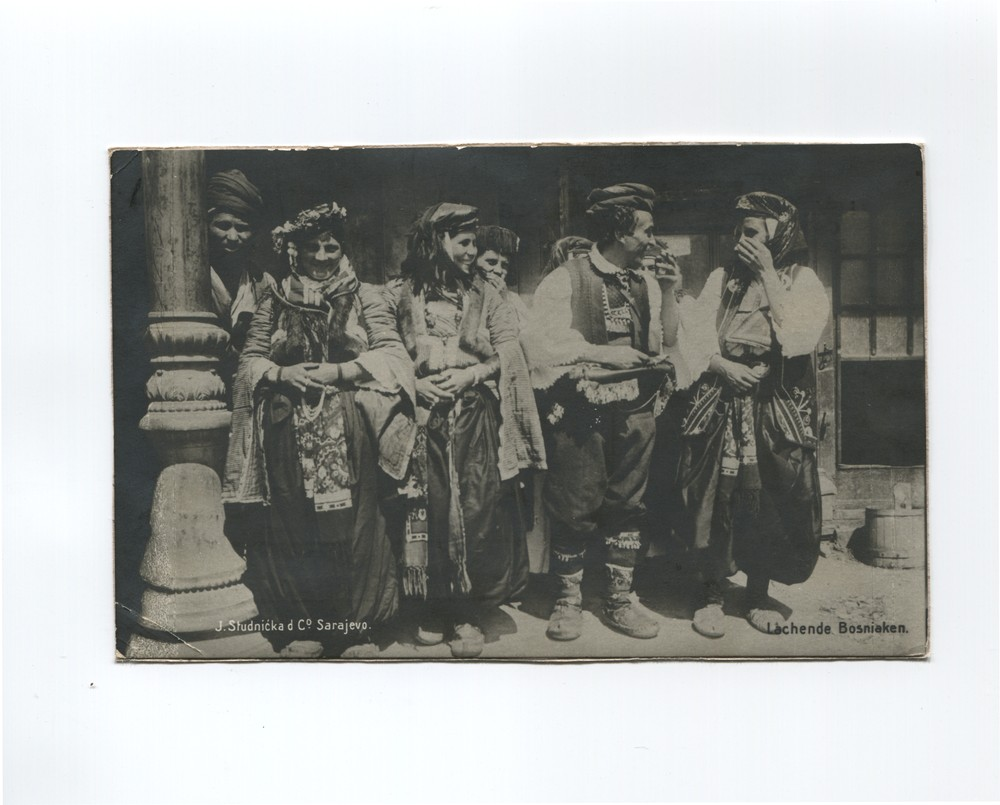 """Laughing Bosniaks"", © The Historical Archive of Sarajevo"