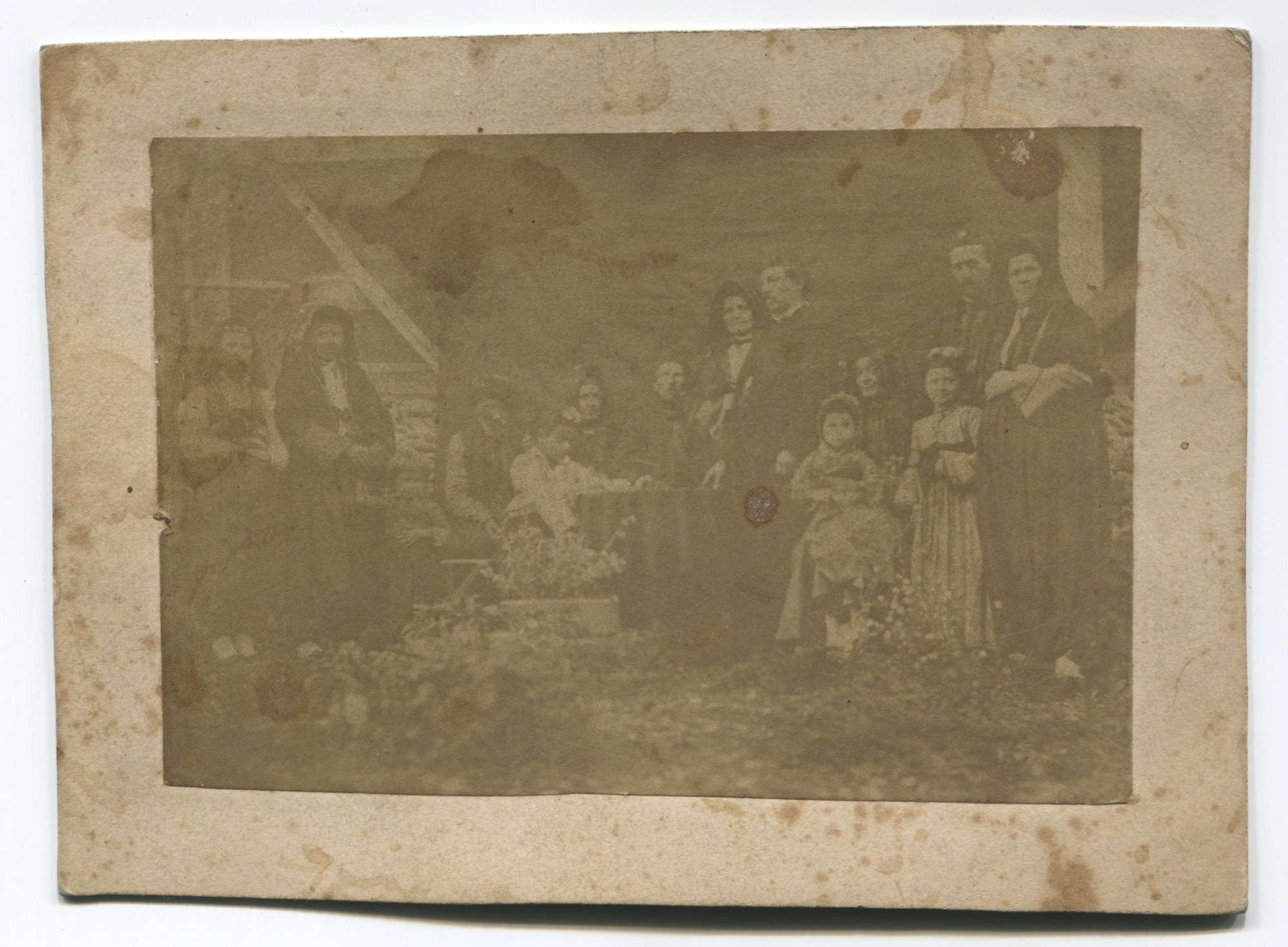 Portrait of two families, © Museum of City of Sarajevo