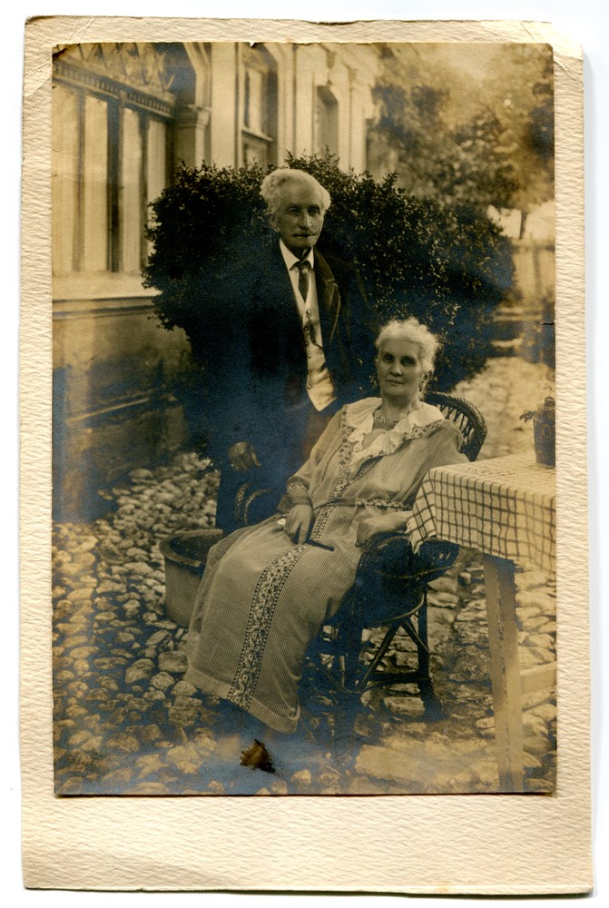 Portrait of Makso Despić with his wife, © Museum of City of Sarajevo