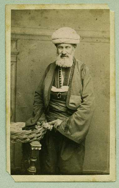Studio portrait of an old man, © The Austrian Museum of Folk Life and Folk Art