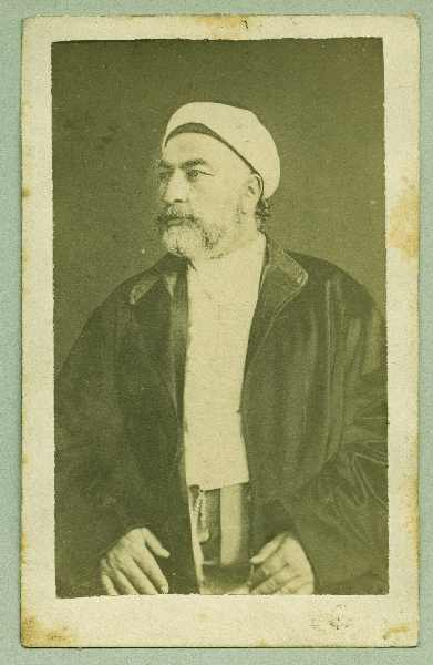 Studio portrait of a Muslim prayer, © The Austrian Museum of Folk Life and Folk Art