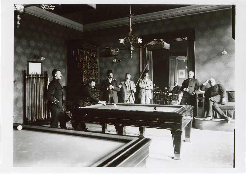 The billiard room in the Club House (Društveni dom), © The National Museum of Bosnia and Herzegovina