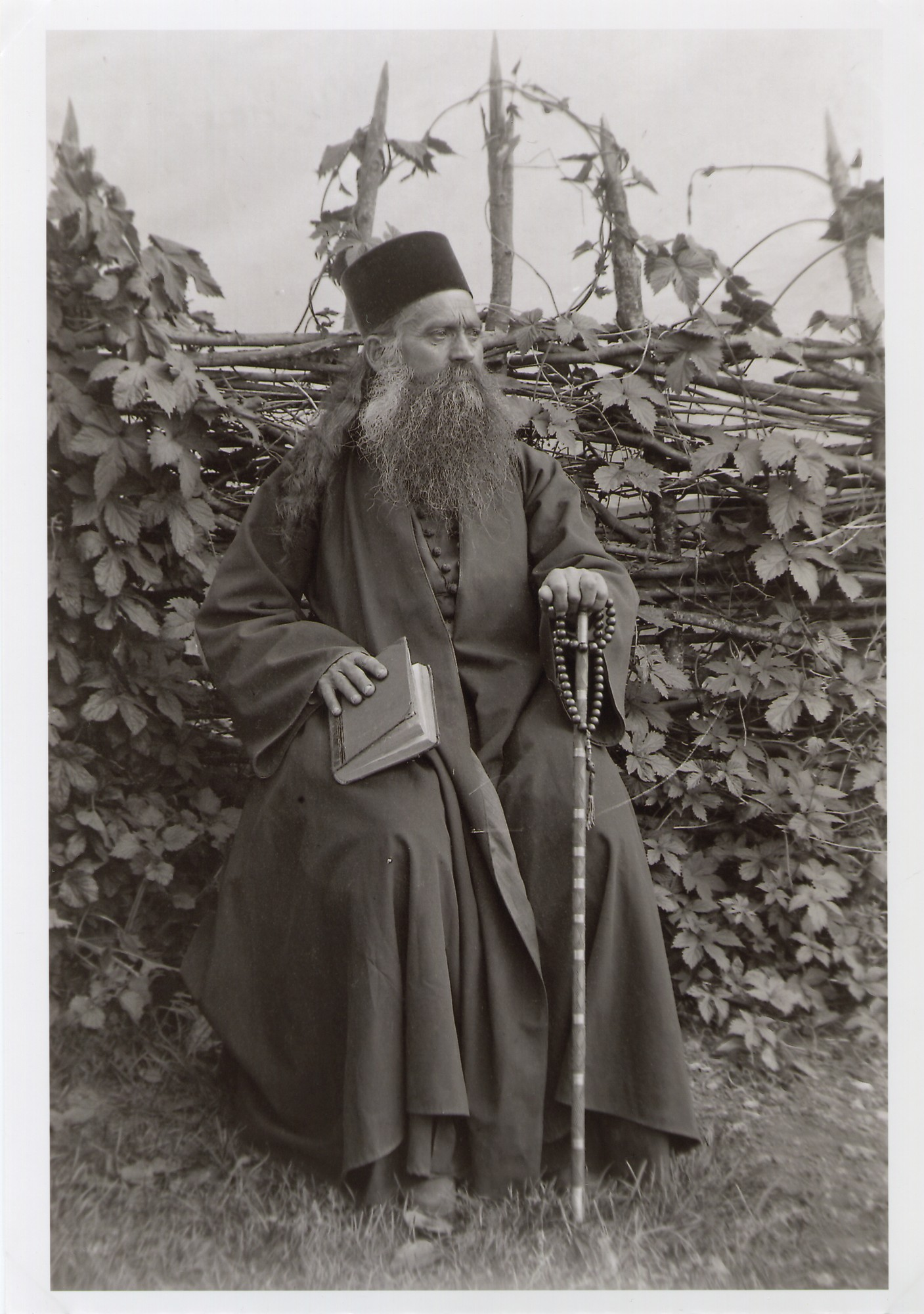 Portrait of a Serbian Orthodox priest, © The National Museum of Bosnia and Herzegovina