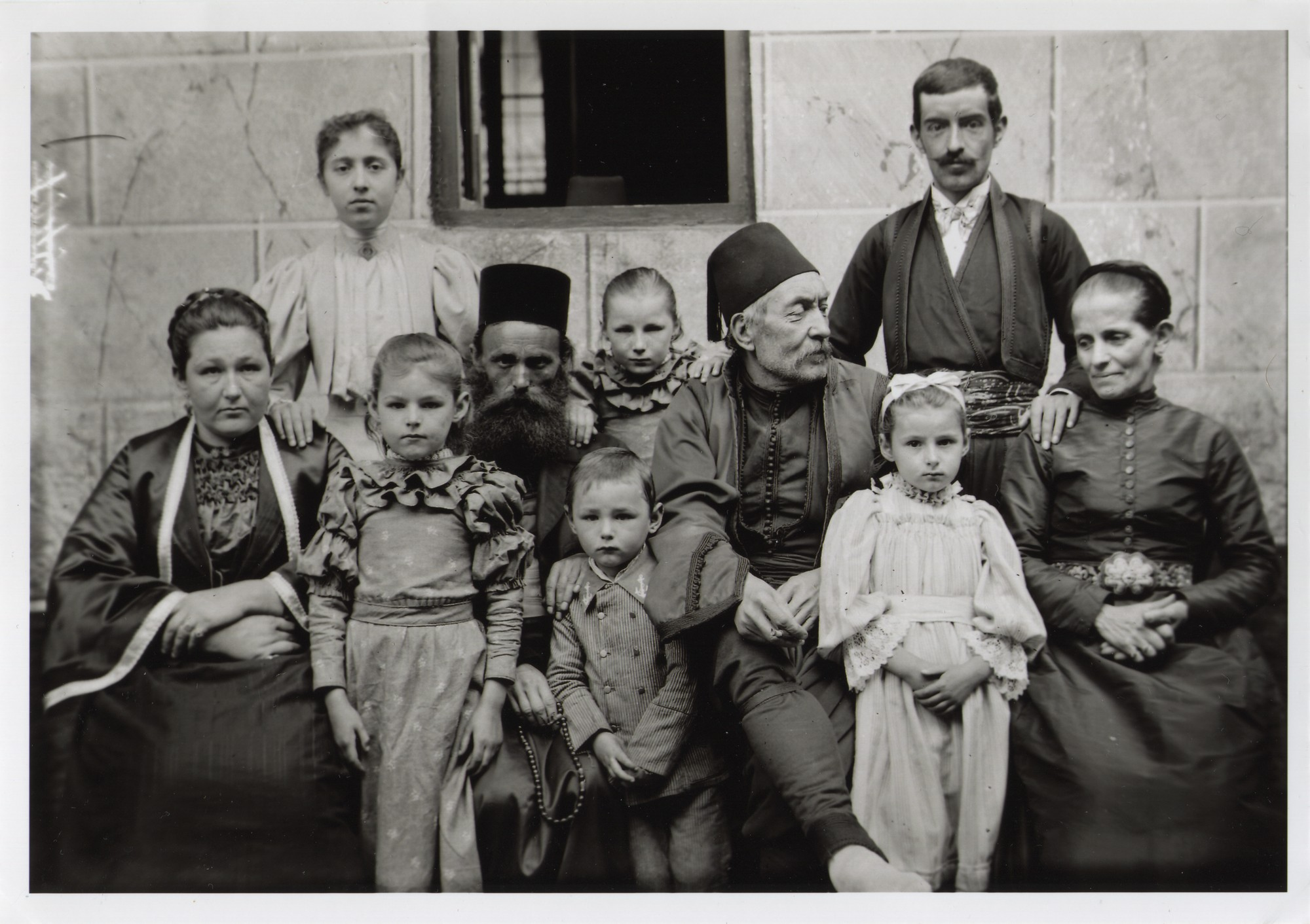 Family portrait, © The National Museum of Bosnia and Herzegovina