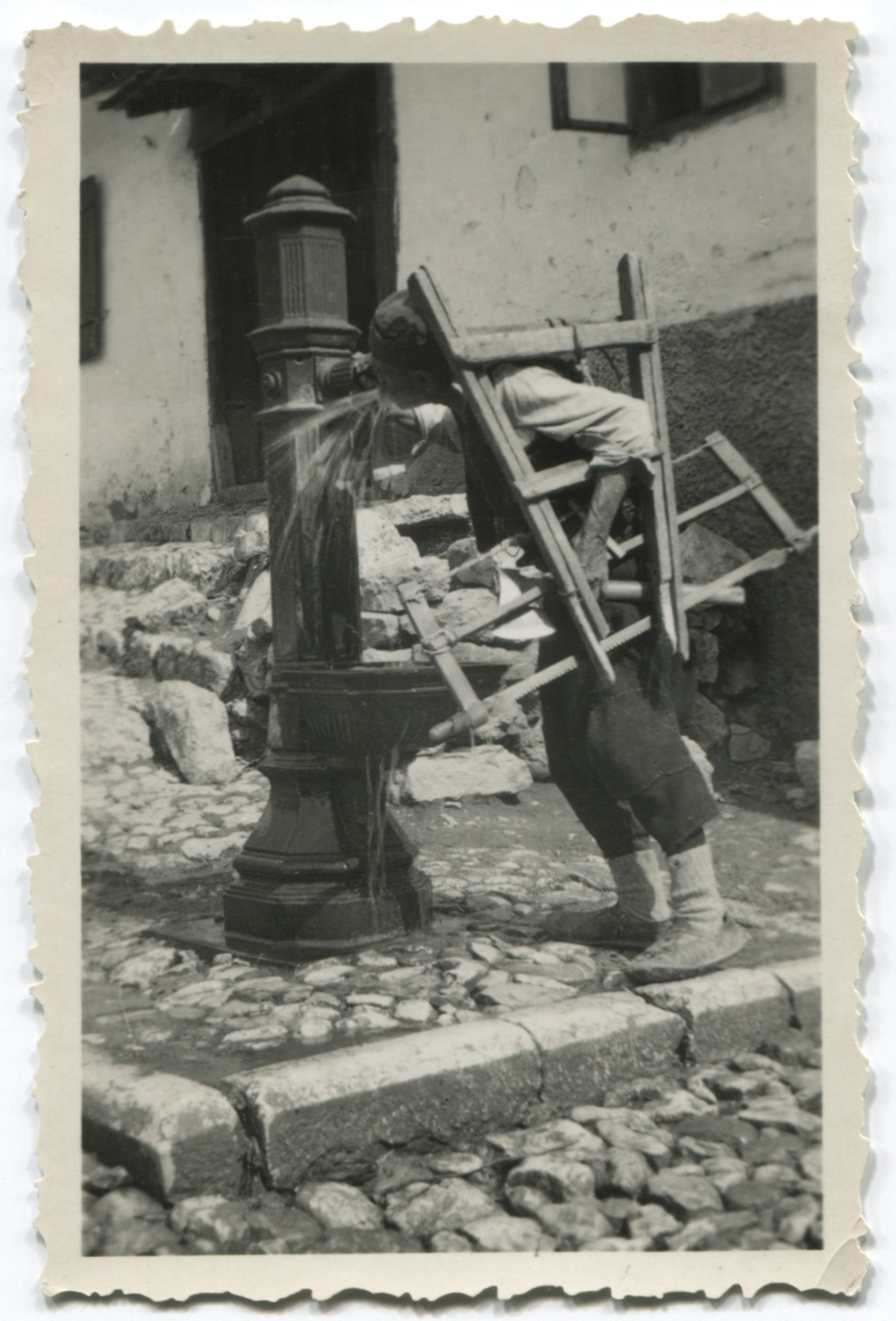 Iron fountain on the outskirts of Sarajevo, © Museum of City of Sarajevo