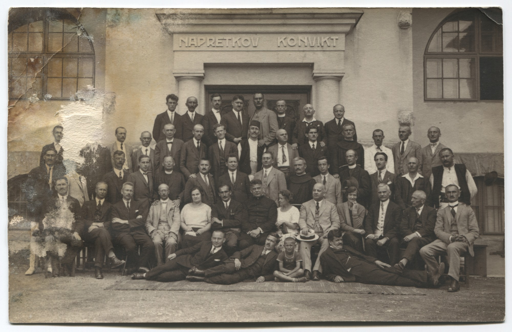 "Group portrait of the board of the Croatian Cultural Association ""Napredak"", © Museum of City of Sarajevo"