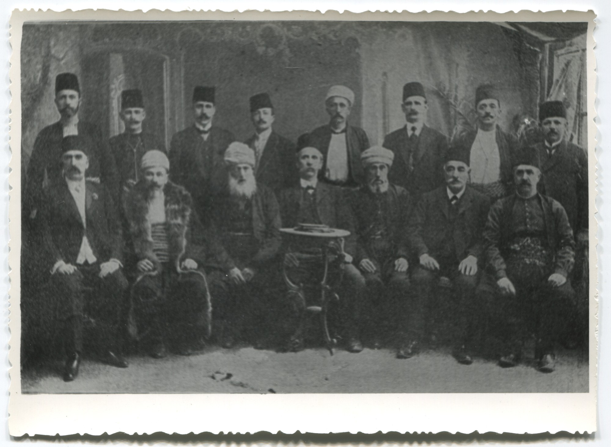 "The Executive Committee of the National Muslim Organisations (""Muslimanska narodna organizacija"" ), © Museum of City of Sarajevo"