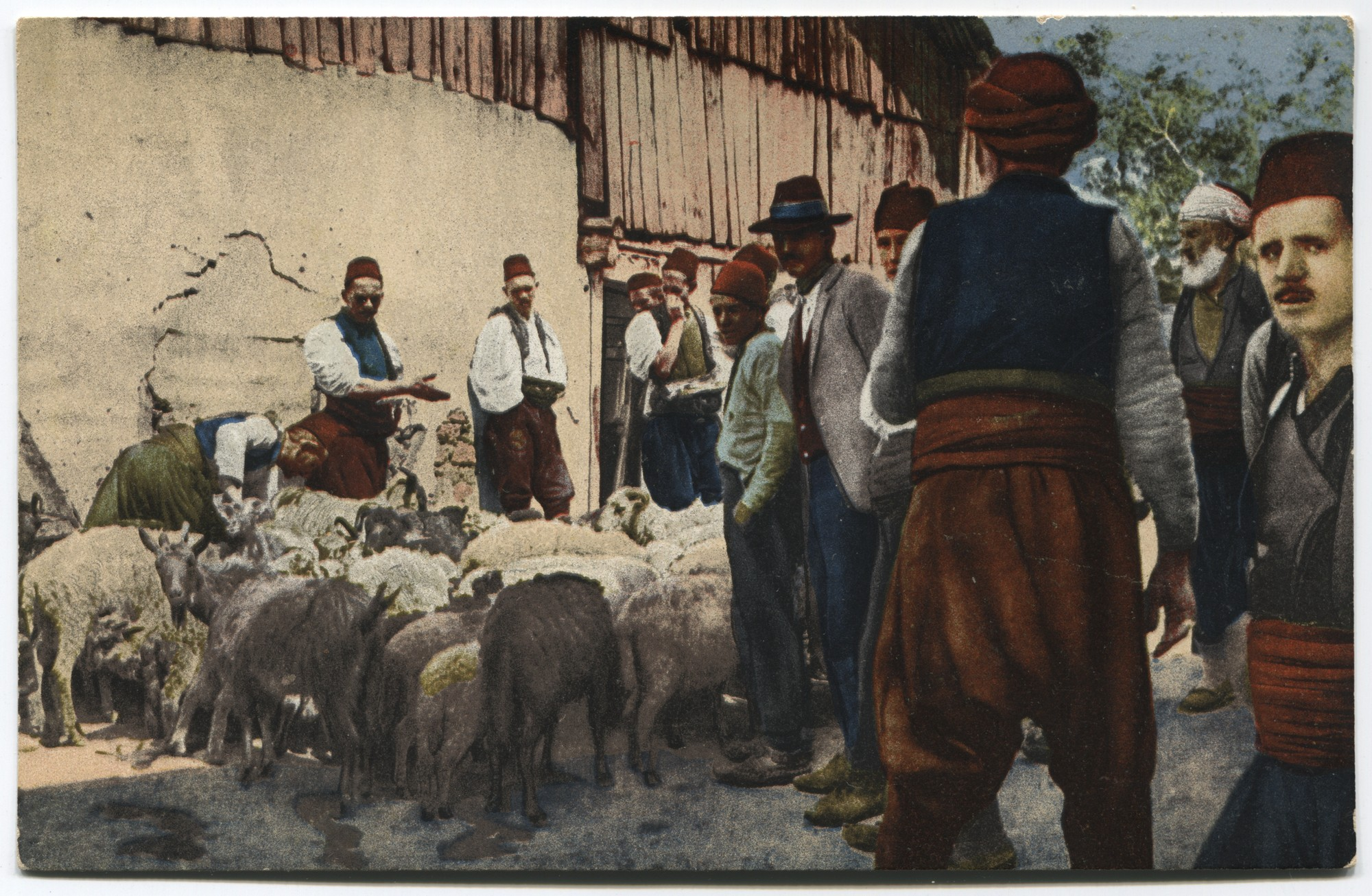 Cattle market, © Museum of City of Sarajevo