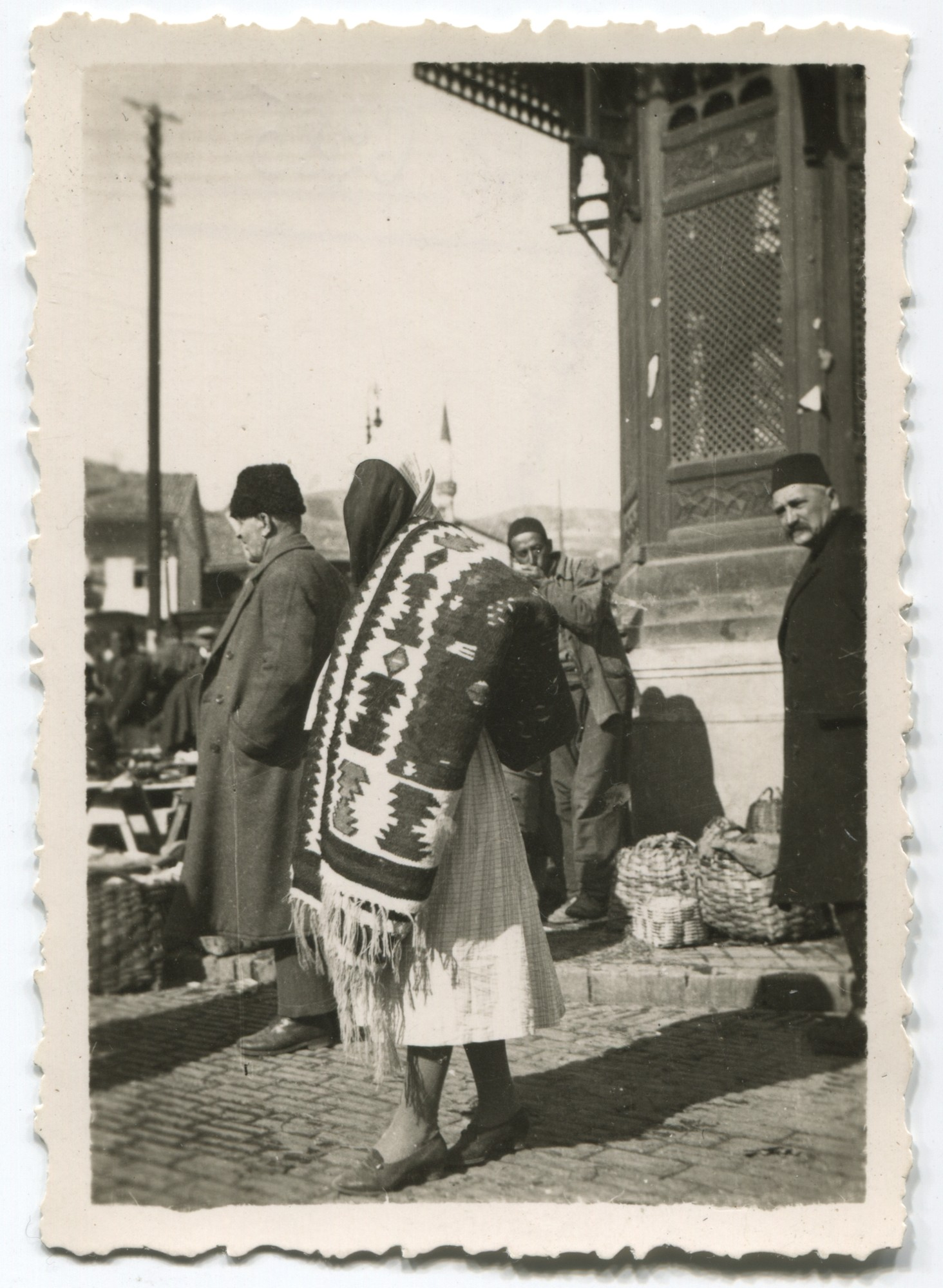 Scene at the Seblj drinking fountain, © Museum of City of Sarajevo