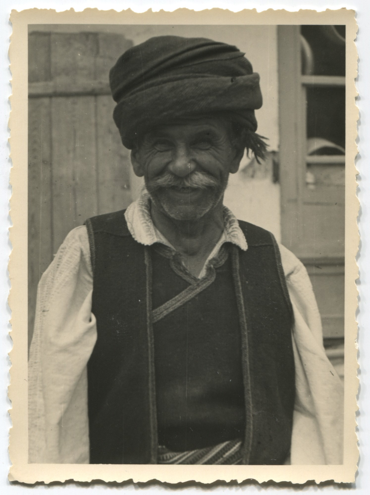 Portrait of a Serbian peasant, © Museum of City of Sarajevo