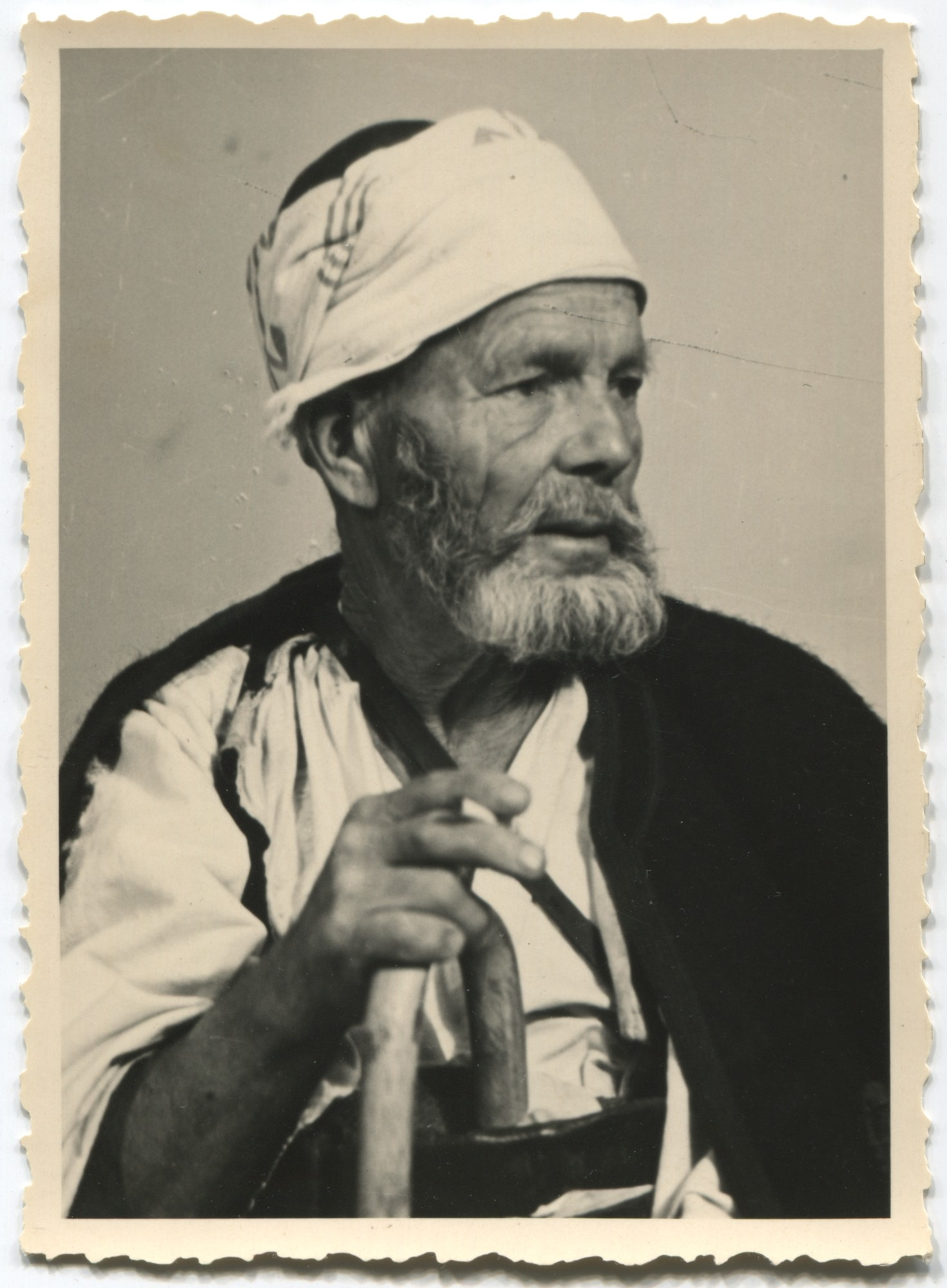 Portrait of an old Muslim man, © Museum of City of Sarajevo