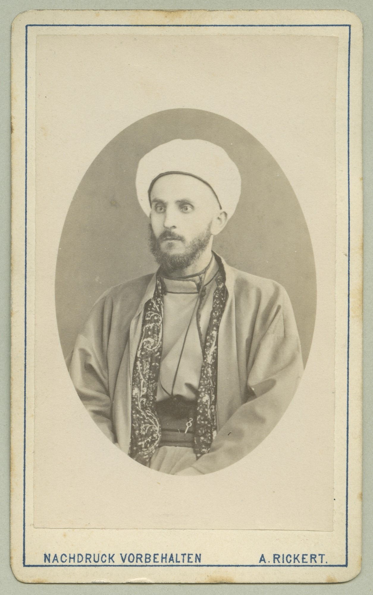 Studio portrait of a Muslim representative, © The Austrian Museum of Folk Life and Folk Art
