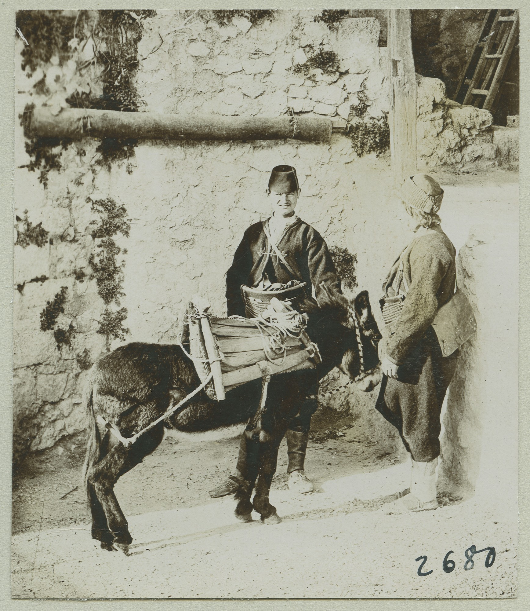 Donkey driver, © The Austrian Museum of Folk Life and Folk Art