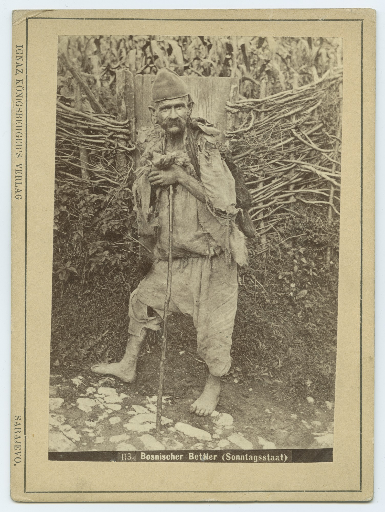 """Bosnian Beggar (Glad Rags)"", © The Austrian Museum of Folk Life and Folk Art"