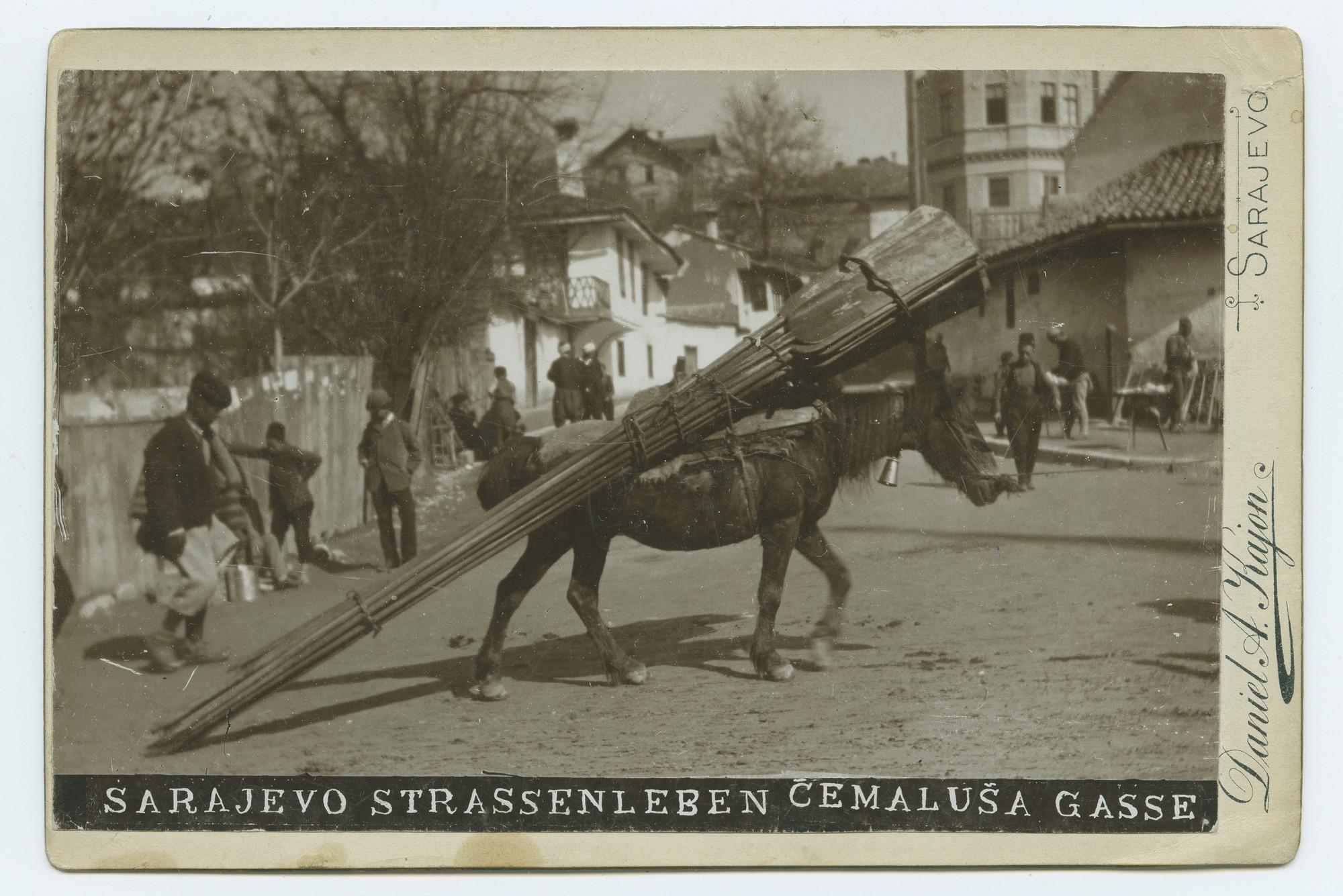 """Sarajevo / Street Life / Ćemaluša Street"", © The Austrian Museum of Folk Life and Folk Art"