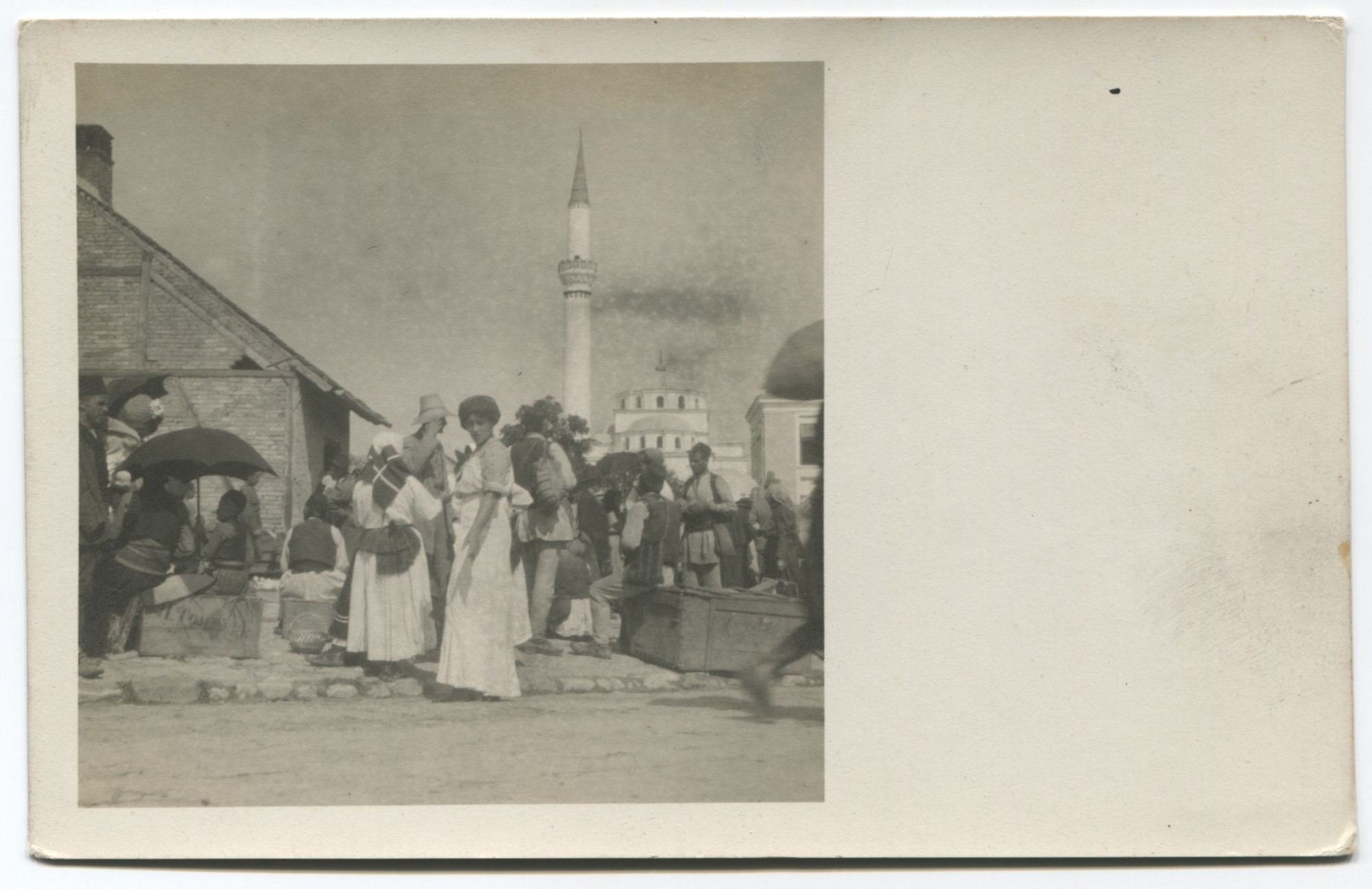 Street scene, © Bosniac Institute - Adil Zulfikarpašić Foundation