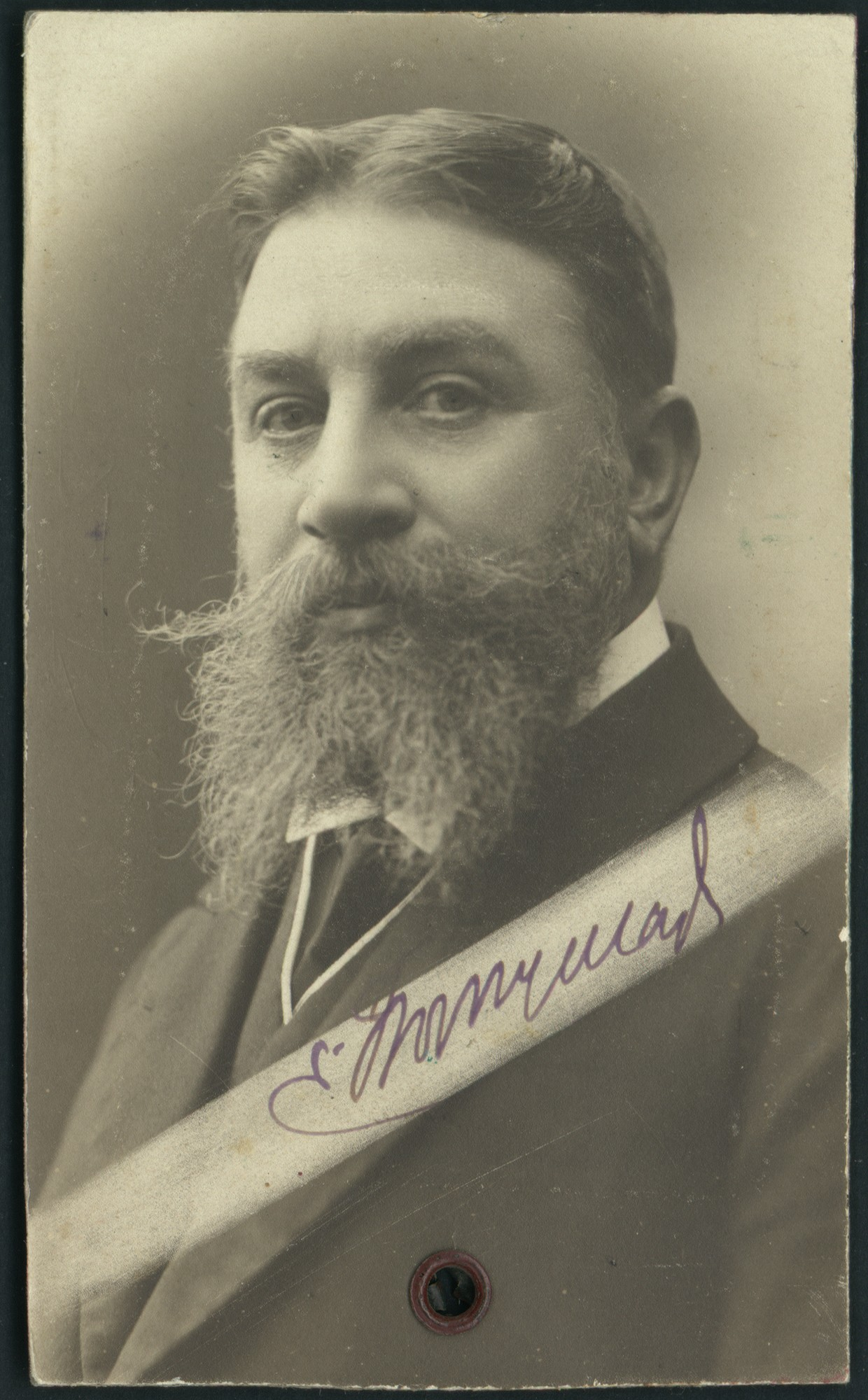 Studio portrait of Vasil Radoslavov, © St. Cyril and St. Methodius National Library