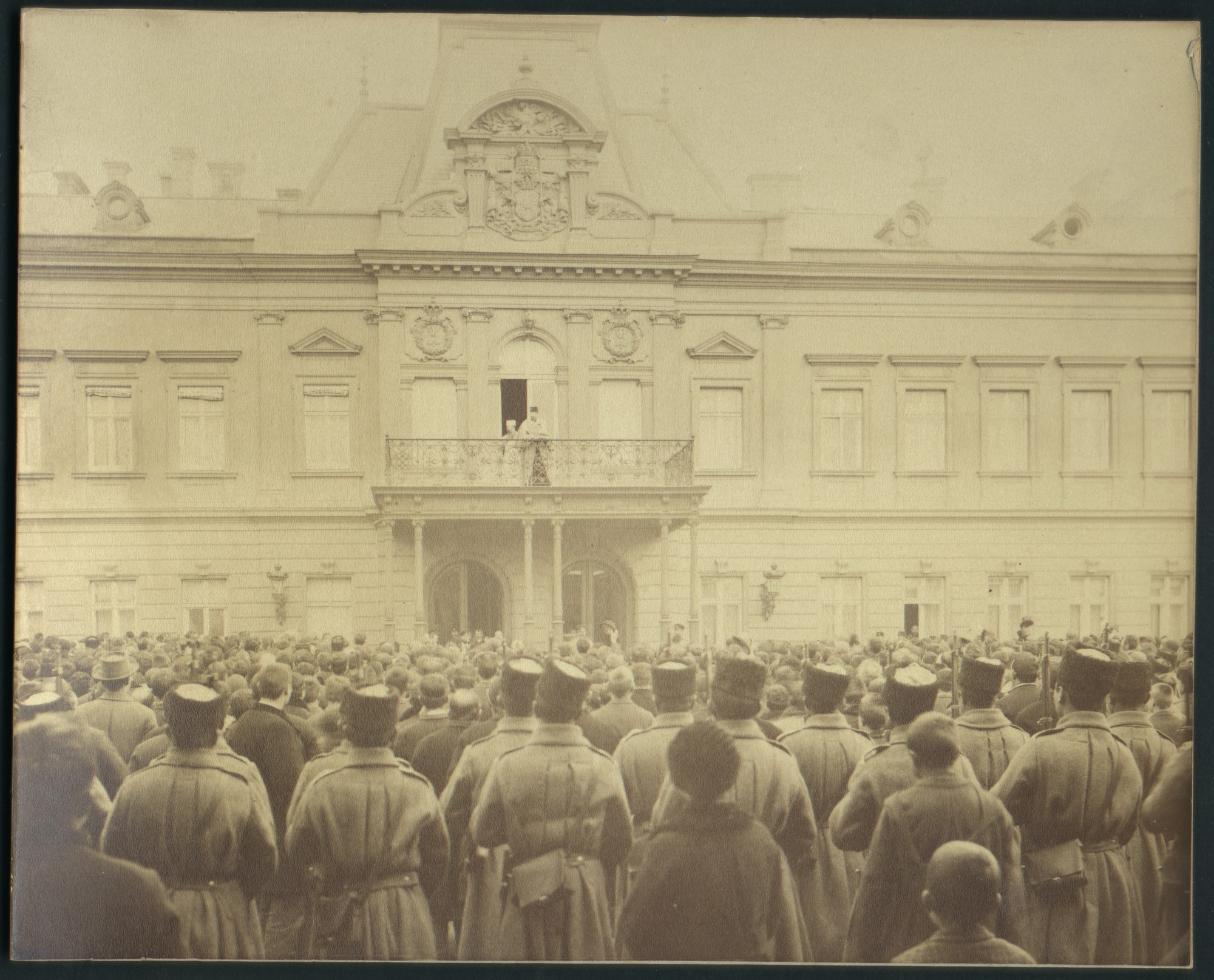 Meeting on the occasion of the birth of King Boris III, © St. Cyril and St. Methodius National Library