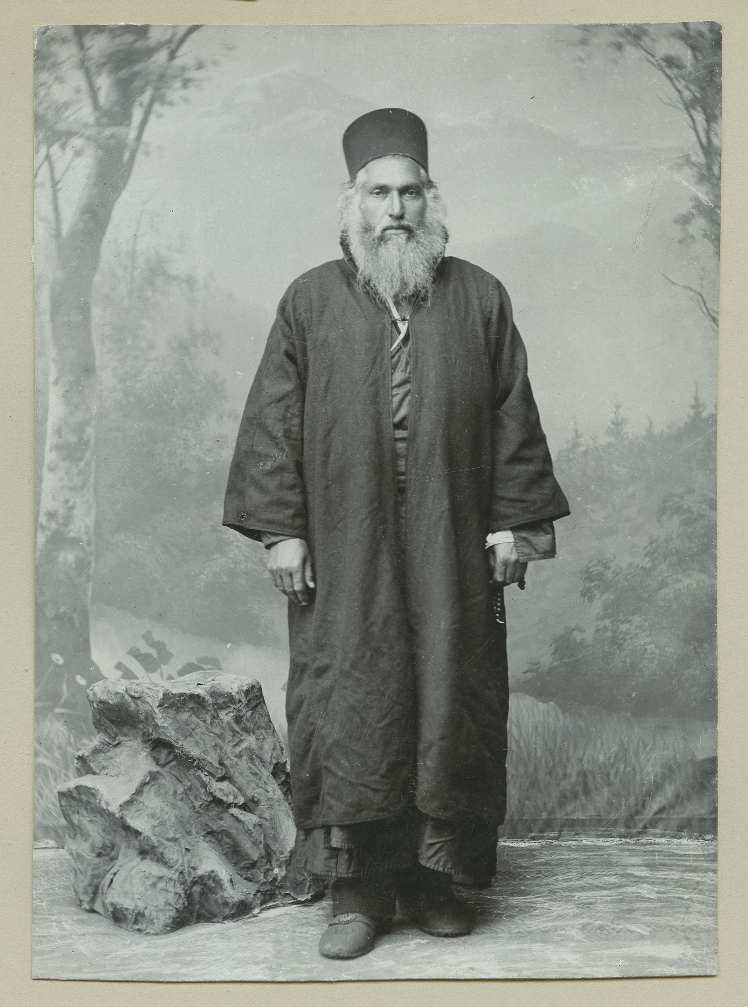 """Bulgarian Village Priest"", © The Austrian Museum of Folk Life and Folk Art"