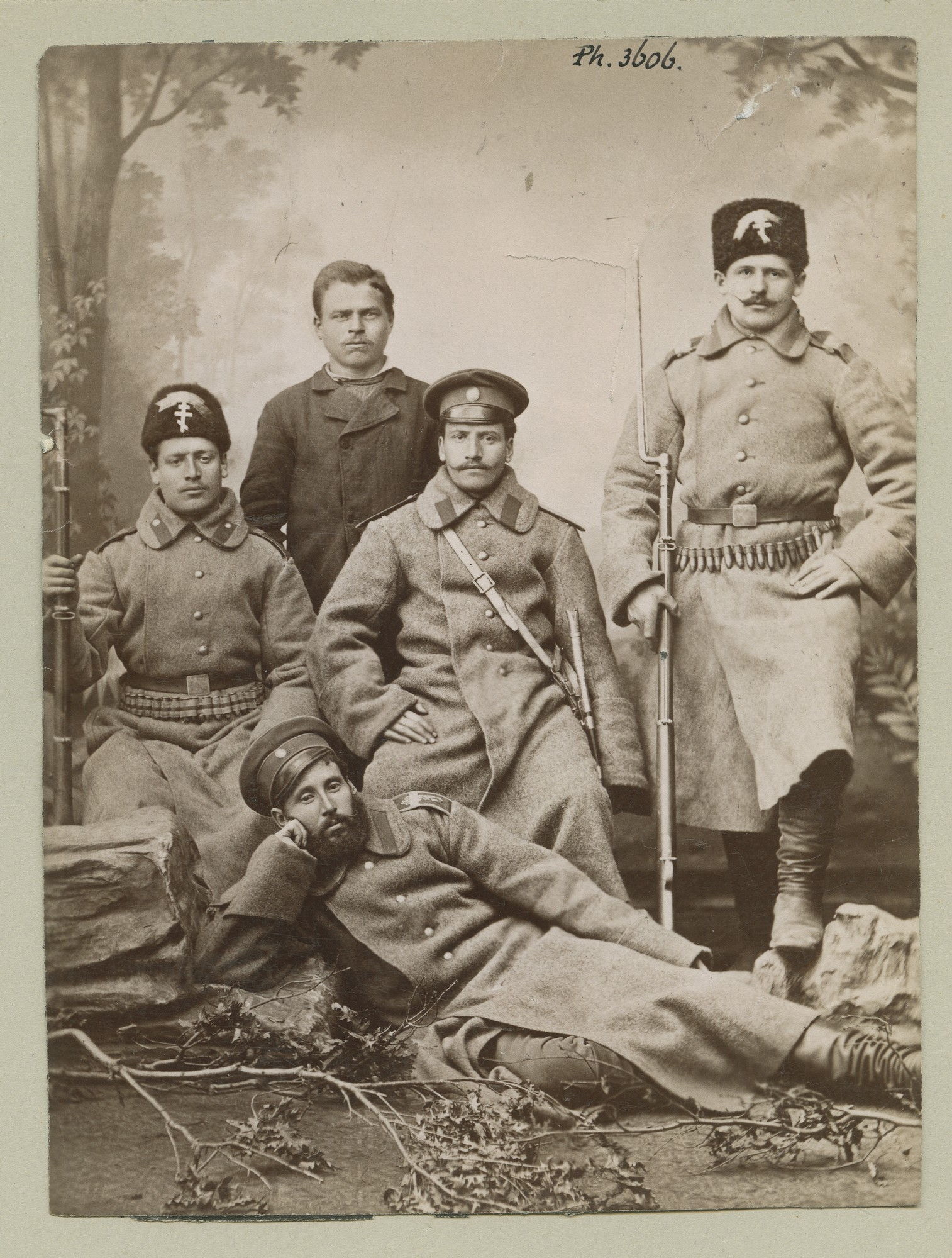 """Bulgarian soldiery"", © The Austrian Museum of Folk Life and Folk Art"
