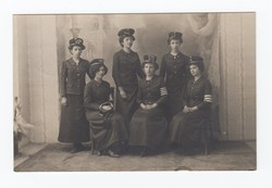 [Untitled] Group of female firer fighters posing for the camera