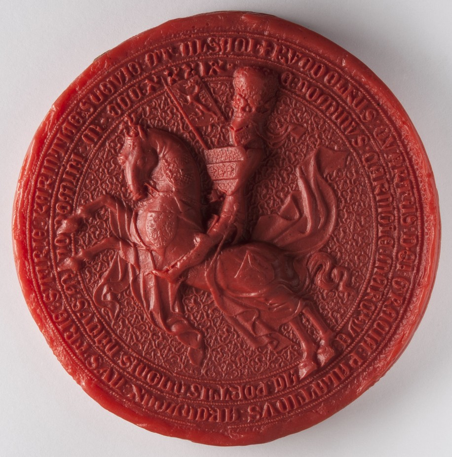 Seal of Rudolf IV., Duke of Austria