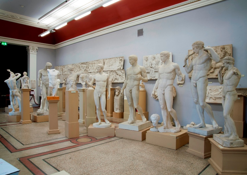 Collection of plaster replicas